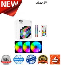 AvP RGB Modding Kit 3 x 120mm Fans, 2 x LED Strips & Remote Control