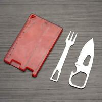 outdoor multi-tool tool knife fork outdoor camping knife fork safety HOT