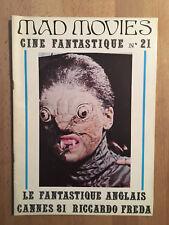MAD MOVIES numéro 21 (août 1981) - TBE
