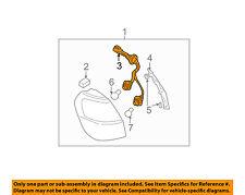 SUBARU OEM 00-04 Outback Taillight Tail Light Lamp Rear-Socket 84931AE160