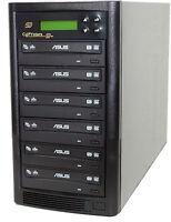 DVD burner Copystars 1-5 Liteon /Asus 24X CD DVD Burners Duplicator Copier tower