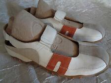 Lassen Women's White Leather  Sandal   Pump's   Walking Trainer's  Size 9.5