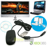 PC Win10 Windows 10 Wireless Gaming USB Receiver Adapter For Xbox 360 Controller