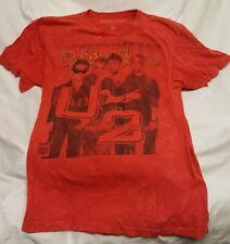 Vintage Rolling Stone Magazine U2 Graphic T Shirt L Red