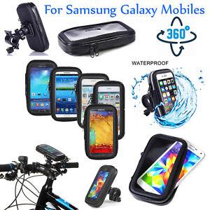 Bicycle Motor Bike Mount Phone Holder Various For Samsung Mobile Waterproof Case