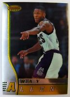 1996 96-97 BOWMANS BEST Ray Allen ROOKIE RC #R5, Bucks HOF!