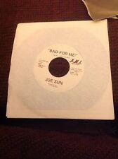 Joe Sun Bad For Me 45 Demo