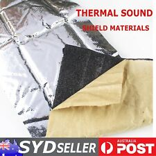 Heat Insulation Thermal Reduce Sound Deadener For Auto Body Trunk Bonnet 4.5mm2