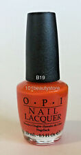 Opi Nail Lacquer Atomic Orange 0.5oz *New*