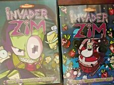 Invader Zim Seasons DVDs Nickelodeon Used