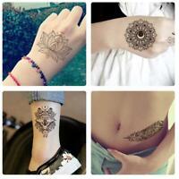 Temporary Body Decal Template Sticker DIY Body Art Tattoo Stencils