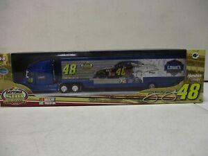 2008 Winner's Circle Daytona 500 50 Years Jimmie Johnson Lowes Transporter 1/64