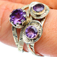 Amethyst 925 Sterling Silver Ring Size 9.75 Ana Co Jewelry R38602F