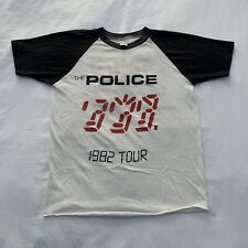 Vintage The Police Ghost In The Machine Tour T-Shirt Size S 1982 Original Rare!