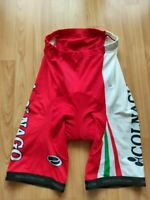Colnago Men's cycling Shorts Red, White , Italian Flag Parentini  Size: M