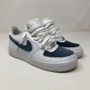 Nike Air Force 1 GS White 314192-117 Wmns 8 Youth 6.5 Customized With Box