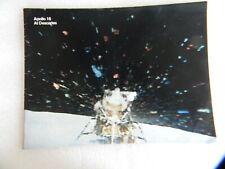VINTAGE APOLLO 16 BOOKLET - AT DESCARTES - NASA - 32 PAGES, 1972
