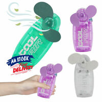 Mini  Fan Battery  Pocket    Cool Air  Hand Held   Cooler Portable  Travel