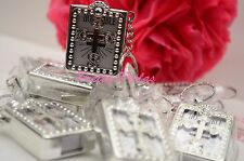 108PC Wedding-Baptism Mini Bibles Party Favors Keychains Communion Recuerdos