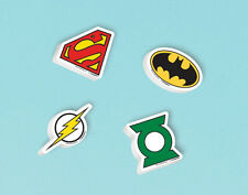 12 x Justice League Erasers Party Favours Loot Bag Fillers Party Supplies Batman