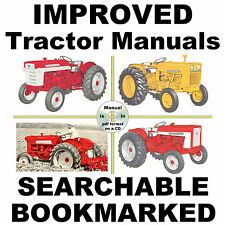 IH International Harvester 1206 1256 Tractor Service Manual BEST = SEARCHABLE CD