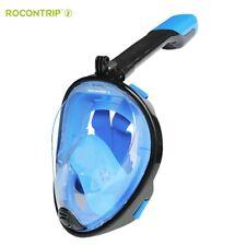 ROCONTRIP Snorkel Mask Full Face, Anti-fog Anti-leak Snorkeling Package