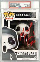 Matthew Lillard autograph inscribed Funko Pop Scream #51 PSA Encapsulated