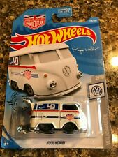2019 Kool Kombi Volkswagen Hot Wheels - White 136/250 ~ Shipping Discounts!