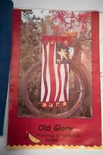 "Quilt Kit ""Old Glory"" By Making Lemonade Designs Flag USA FOLK ART Pattern"