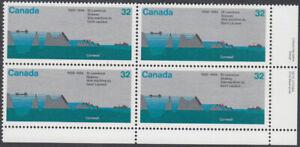 Canada - #1015 St. Lawrence Seaway Plate Block - MNH