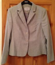 Ladies Green Wool Suit Jacket size 14 Trousers size 10 & Skirt size 10 by Next