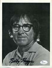 Bobby Riggs Jsa Coa Signed 8X10 Photo Authentic Autograph