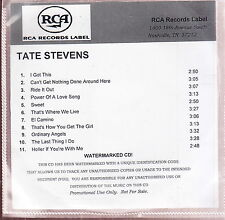 tate stevens s/t cd limited edition