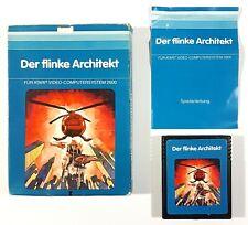 Atari VCS Spiel DER FLINKE ARCHITEKT dt. PAL Ovp