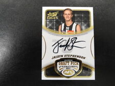 2018 AFL SELECT LEGACY DRAFT PICK SIGNATURE DPS4 JAIDYN STEPHENSON COLL 130/180