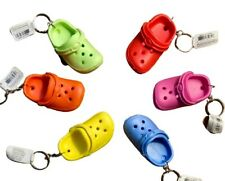 1 Cute Mini Crocs Sandal Keychain Charm Keyring Key Holder Novelty keychain Gift