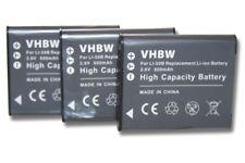 2x AKKU für Panasonic HX-WA2 HXWA2 HXWA-2 HX-WA-2 HX-WA20W HX-WA-20W
