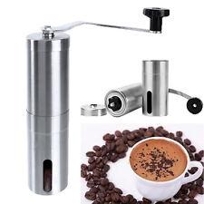 Ceramic Burr Manual Handy Coffee Bean Pepper Seeds Grinder Mill Hand Crank #P