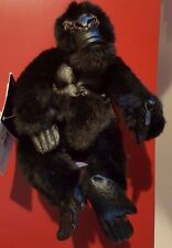 "Disney 8""  Mighty Joe Young Bean Bag Beanie NWT Ape Gorilla"
