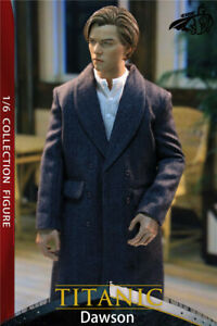 CHONG 1/6 Scale Jack Leonardo DiCaprio Male Model 12inches Figure Collections
