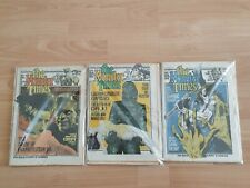 Famous monsters /1970s Monster Times #s 4,5,6 good condition