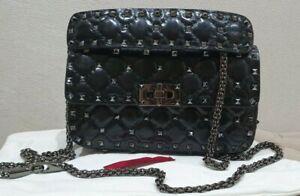 Valentino Rockstud spike small black bag
