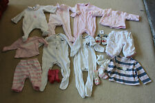 Bundle 10 items plus 3 to 6 months warm trousers & tops Mamas & Papas & others