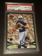 2012 Topps Prime #1 Andrew Luck Rookie Card PSA 8.5 NM-MT+
