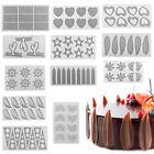DIY Silicone Chocolate Fondant Candy Cake Decorating Sugarcraft Baking Mould NEW