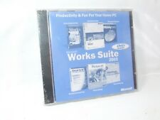 Microsoft Works Suite 2003 For Europe DVD New & Sealed