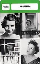 FICHE CINEMA :  ANNABELLA -  France (Biographie/Filmographie)
