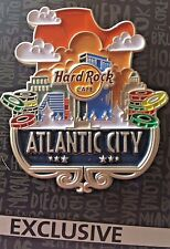 2017 HARD ROCK CAFE ATLANTIC CITY ICON SERIES CORE/SKYLINE/POKER CHIPS PIN