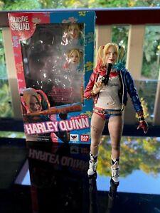 """S.H. Figuarts Harley Quinn Suicide Squad Batman Joker 6"""" Action Figure"""