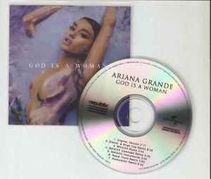 ARIANA GRANDE - GOD IS A WOMAN - NEW 7 REMIX CD PROMO
